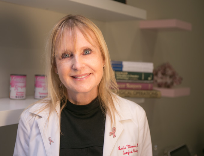 Dr. Leslie Memsic breast cancer surgeon los angeles